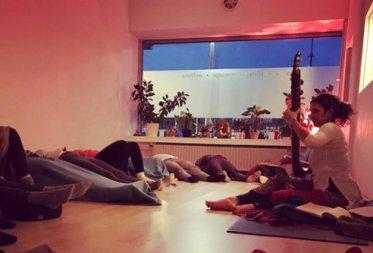 Music meditation for teacher training, Amsterdam.