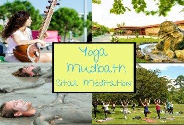 YOGA - MUDBATH- SITAR MEDITATION